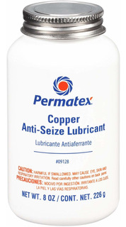 Permatex 09128-6pk Lubricante Antiadherente De Cobre - 8 Oz