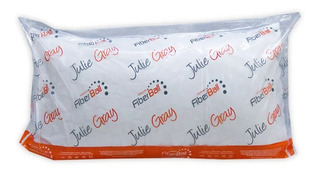 Almohada Oferta Julie Gray 40x70 Vellón Siliconado
