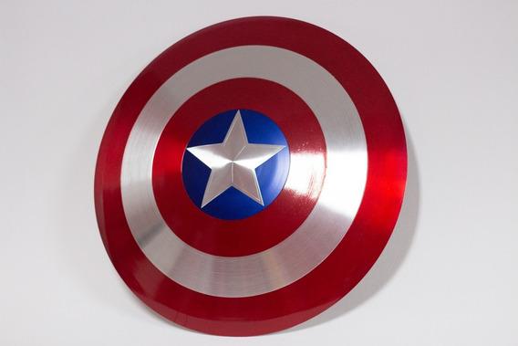 Escudo Do Capitão América Réplica 45cm