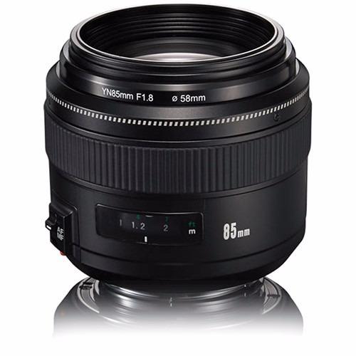 Lente Yongnuo Yn 85mm F/1.8 Para Canon Yn85mm 12x S/juros