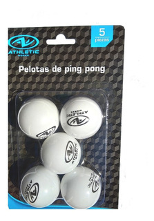 Pelotas Ping Pong 5 Pzas Atletic Works