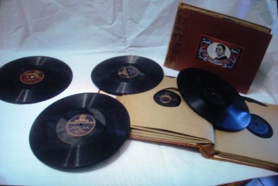 Gran Coleccion De Antiguos Discos De Pasta De Carlos Gardel