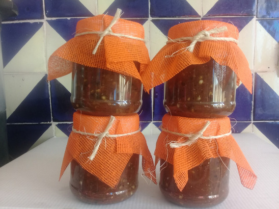 Salsa Picante Artesanal De Molcajete Gurmet