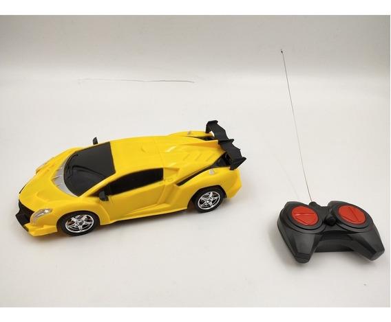 Carrinho Controle Remoto Luz Farol Inmetro Lamborghini