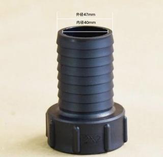 Adaptador Bombona Container 1000 50mm 2 Mangueira