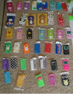 Capas De Silicone Para iPhone 5,5s, 550 Unidades