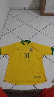 Camisa Seleção Brasileira Tamanho M Oficial