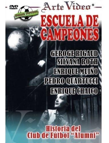 Imagen 1 de 1 de Escuela De Campeones- George Rigaud - S, Roth - Dvd Original