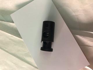 Ahorcadores Plastico Merceria Circular Negro 1000 Pzs