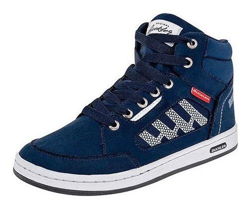 Sneaker Deportivo 80757dtt Bota Niño Sencillo Basico