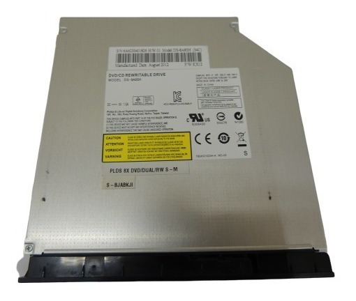 Gravador Dvd Rw Ds-8a8sh Para Notebook Itautec W7730