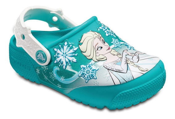 Crocs Fun Lab Disney Frozen Lights Clog K Niños Luces Abc