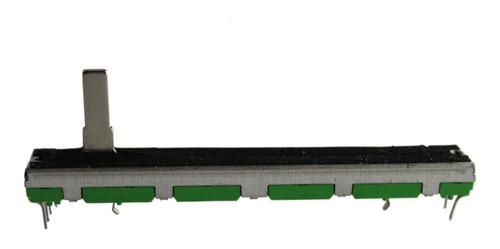 Potenciometro Deslizante 60 Mm B10k Stereo 6 Pin P / Consola