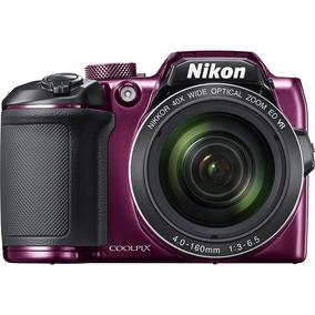 Câmera Nikon Coolpix B500 Roxa +bolsa+mini Tripé+8gb