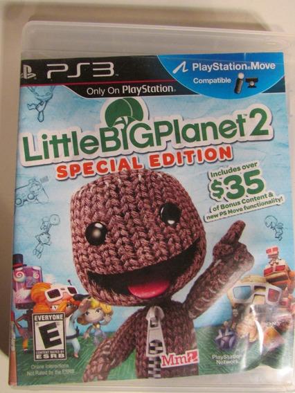 Littlebigplanet 2 Special Edition Ps3 Mídia Física - Usado