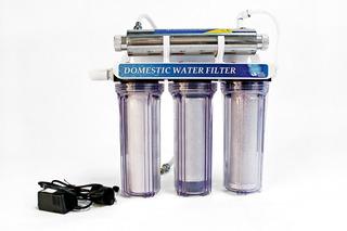 Filtro Bajo Tarja 3 Etapas + Uv / Purificador De Agua