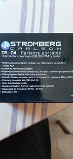 Parlante Portable, Reproducción De Mp3 Y Pendrive
