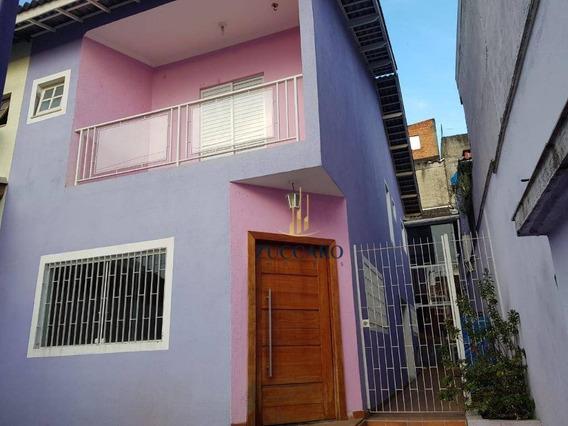 Sobrado Com 3 Dormitórios À Venda, 177 M² Por R$ 450.000,00 - Jardim Palmira - Guarulhos/sp - So4254