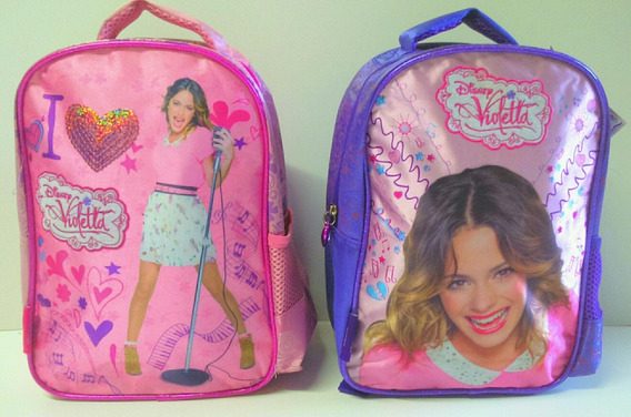 Mochila Original Disney Tini Violetta 30 X 21 X 11cm Oferta!