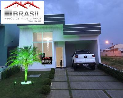 Casa Nova 2 Dormitórios À Venda No Condomínio Brescia Em Indaiatuba - Ca04839 - 32774272