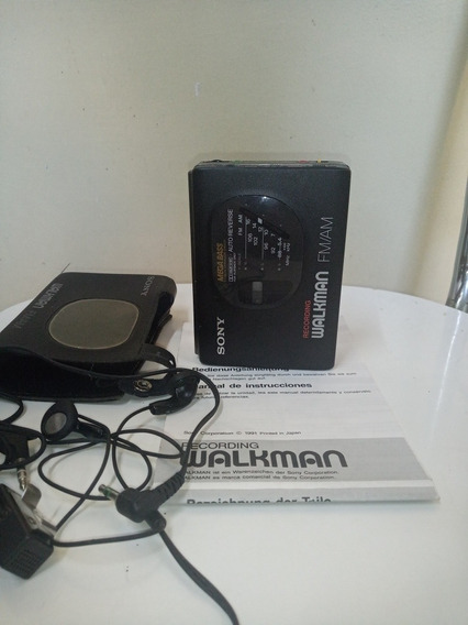 Relíquia Walkman Sony Gx50 Gravador