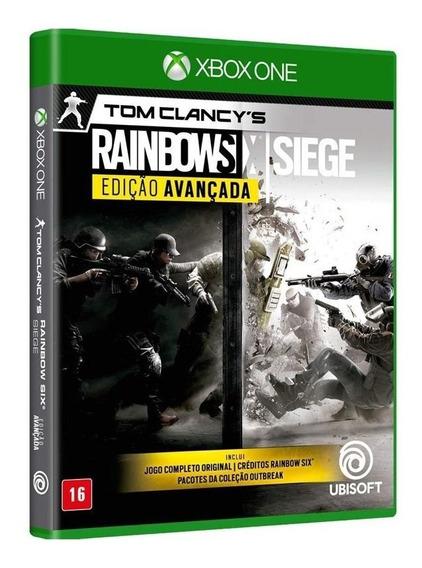 Jogo Rainbow Six Siege - Edição Avançada (novo) Xbox One