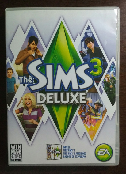 Jogo The Sims 3 Deluxe Pc (mídia Física)