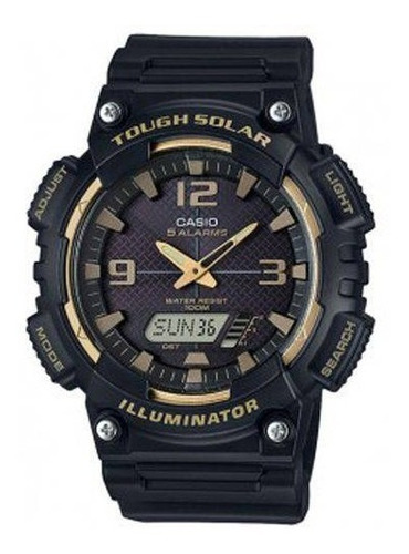 Promoção Relógio Casio Solar Aq-s810w-1a3vdf Original