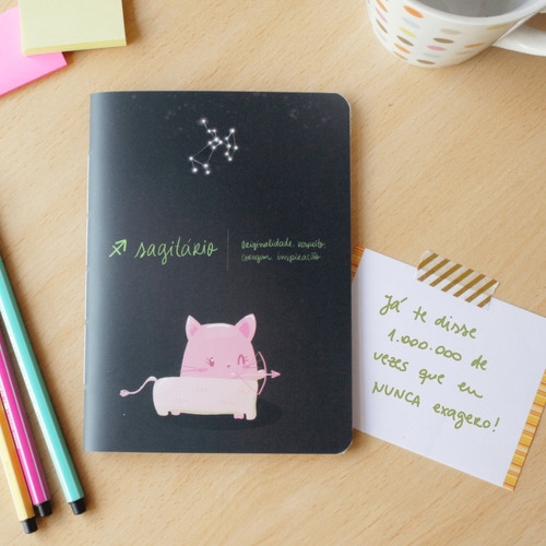 Caderninho Signos - Sagitário