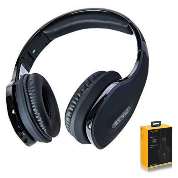 Headphone Over Ear Wireless Stereo Áudio Preto - Ph150 Pulse