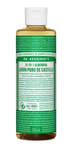 Jabón De Almendra Puro De Castilla Dr Bronners-fralugio