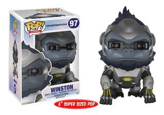 Funko Pop Overwatch Winston 6 Pulgadas 97 - Titi Toys