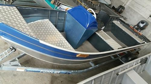 Barco 6m Com Boca De 1.70 Borda De 0.64 Motor 40 Trim