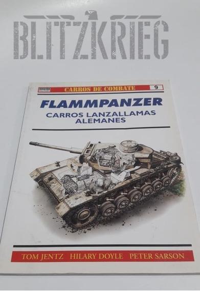 Livro Flammpanzer Ww2 Segunda Guerra Ww2 Tanque Militar