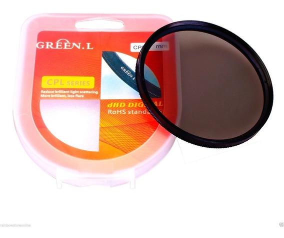 Filtro Polarizador Cpl 40.5mm - Original Green L - Qualidade