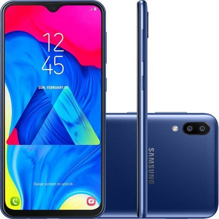 Samsung Galaxy M10 32gb Dual Tela 6,2 Câmera 13+5mp