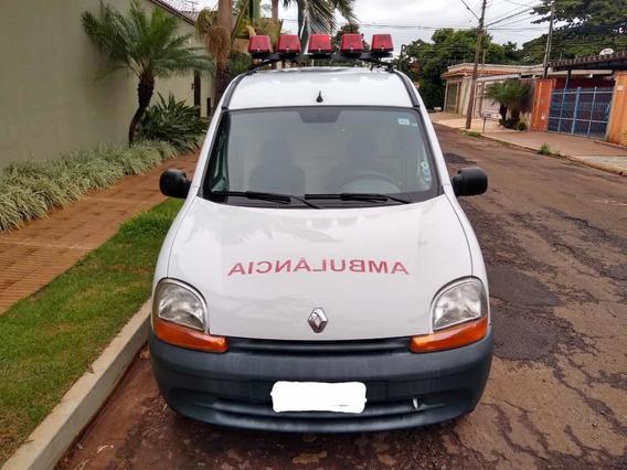 Ambulância, Kangoo, 2016, Apenas 9.000km, Completa, Maca,