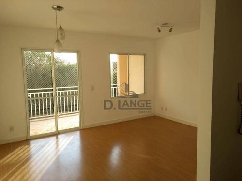 Imagem 1 de 19 de Apartamento Com 3 Dormitórios À Venda, 76 M² Por R$ 425.000,00 - Jardim Santa Genebra - Campinas/sp - Ap18042