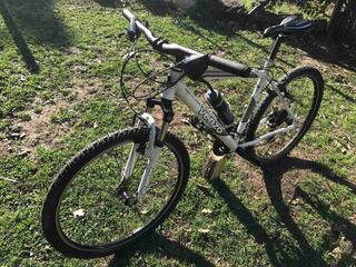 Bicicleta Venzo Mx Rodado 26 Blanca Mountain Bike Excelente