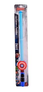 Espada Capitán América Con Luz Y Sonido Ditoys 2108b (5013)