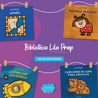 Pack De 4 Libros De Lila Prap