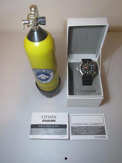 Citizen Aqualand Jp2000-08e Série Prata + Cilindro Tank