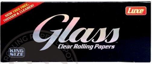Hojilla Glass Transparentes Luxe King Size 40 Uni