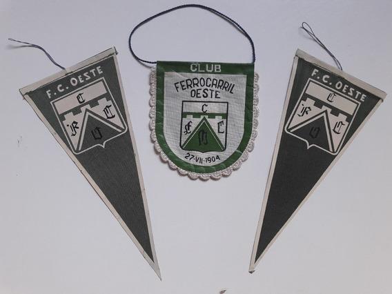 Lote 3 Banderin Club Ferro Carril Oeste