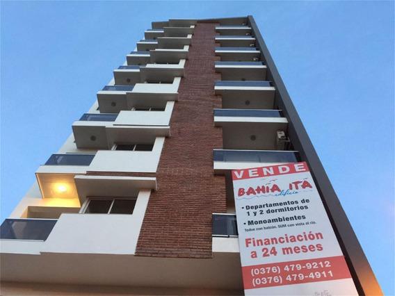 Coqueto Monoambiente Con Balcón, En Torre Bahia Ita