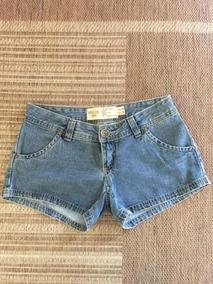 Shorts Jeans Usado Uma Vez Hering Tamanho 40