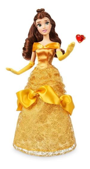 Disney Store Boneca A Bela De A Bela E A Fera