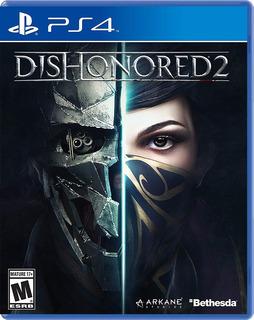 ¡¡¡ Dishonored 2 Para Ps4 En Wholegames !!!