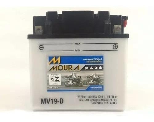 Bateria Moura Yamaha Jet Ski Vx 1100 Mv19d Ref Yb 16clb