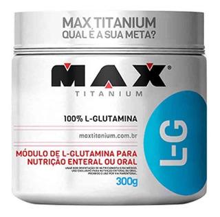 Glutamina 300gr Max Titaniun